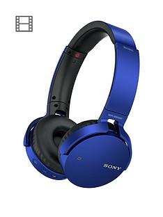 sony-mdr-xb650bt-extra-bassnbspbluetoothnbspover-ear-headphones-blue