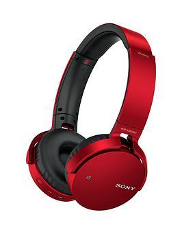 sony-mdr-xb650bt-extra-bassnbspbluetoothnbspover-ear-headphones-red