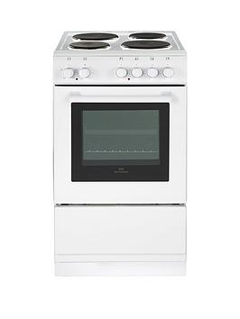 new-world-50esnbsp50cmnbspsingle-cavity-electric-cooker-with-optional-connection-white