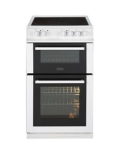 belling-fs50edoc-50cm-double-oven-electric-ceramic-cooker-white