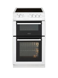 belling-fs50edofcnbsp50cmnbspdouble-oven-electric-ceramic-cookernbspwith-optional-connection-white