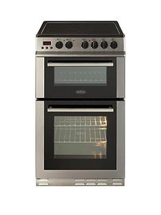 belling-fs50edopc-50cm-double-oven-electric-ceramic-cooker-with-connection-stainless-steel