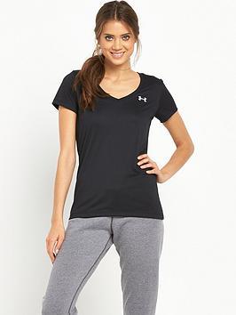 under-armour-techtrade-short-sleeve-t-shirt-black
