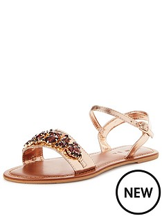v-by-very-dazzle-embellished-metallic-flat-sandal-rose-gold