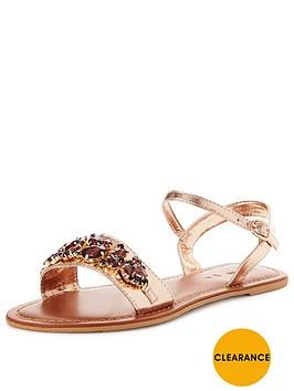 v-by-very-dazzle-embellished-metallic-flat-sandal-rose-gold