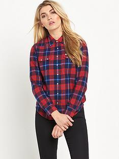 lee-lee-regular-western-flannel-check-shirt