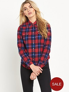 lee-regular-western-flannel-check-shirt