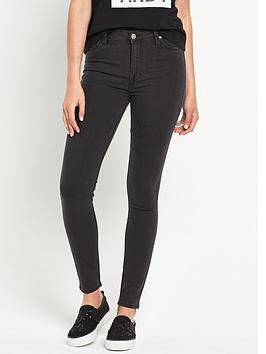 lee-skylernbsphigh-waist-stretch-skinny-jeggingnbsp--epic-black