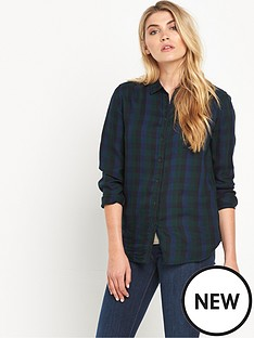 lee-lee-one-pocket-twill-check-shirt