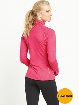 asics-long-sleeve-12-zip-jersey-pink