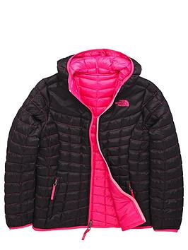 The North Face The North Face Older Girls Reversible Thermoball Jacket