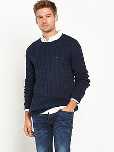 hilfiger-denim-cable-knit-jumper