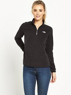 the-north-face-100-glacier-14-zip-black