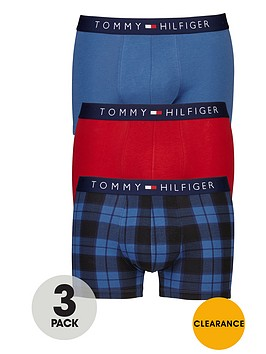tommy-hilfiger-3pk-checkplain-trunk