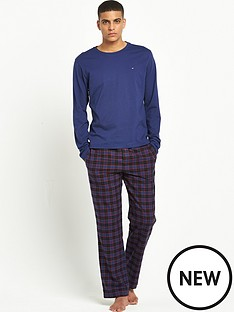 tommy-hilfiger-2pce-long-pj-set