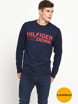 hilfiger-denim-large-logo-crew-sweat