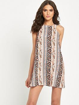 miss-selfridge-cut-out-neck-paisley-stripe-dress-petite