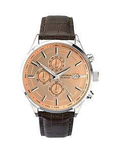 sekonda-sekonda-bronze-dial-silver-tone-dial-dark-tan-leather-strap-mens-watch