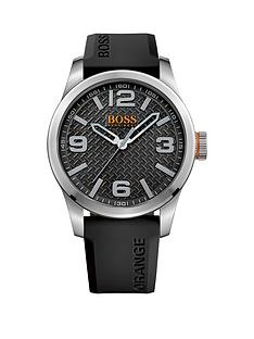 hugo-boss-hugo-boss-paris-black-textured-dial-black-silicone-strap-mens-watch