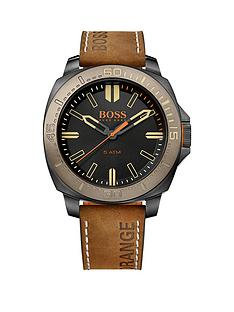 hugo-boss-hugo-boss-sao-paulo-black-matte-dial-brown-nubuck-leather-strap-mens-watch