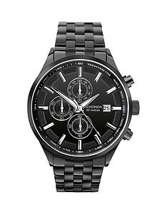 sekonda-sekonda-black-dial-chronograph-black-bracelet-mens-watch