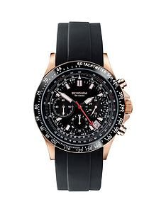 sekonda-sekonda-black-chronograph-black-rubber-strap-mens-watch