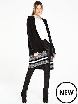 oasis-fashion-luxe-coatigannbsp--black