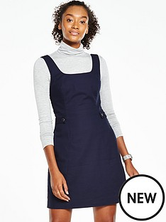 oasis-oasis-pinafore-tab-dress