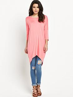 vero-moda-vero-moda-cool-dapper-oversized-top-pink
