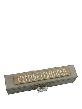 Very Wedding Certificate Holder Picture