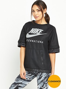 nike-international-sweat-top-black