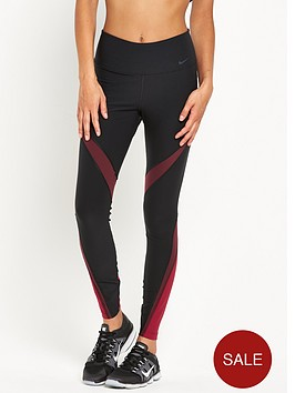 nike-power-legend-training-tight-fabric-twist-blackred