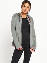 Women's Dry Full Zip Hooded Top