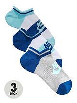 No Show 3 Pack Socks