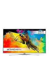 55UH770 55 Inch Super 4K Ultra HD HDR Super with Dolby Vision Smart LED TV with Harmon Karden Sound, Magic Remote and Bright Metal Design - Black
