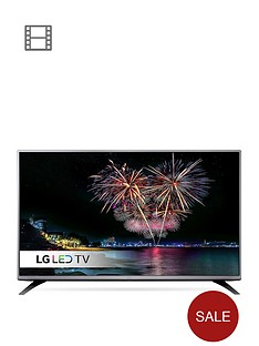 lg-49lh541vnbsp49-inch-full-hd-freeviewnbspled-tv-with-metallic-design-black
