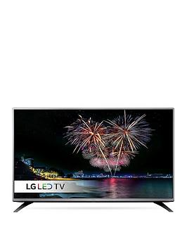 Lg 49Lh541V 49 Inch Full Hd Freeview Led Tv With Metallic Design  Black