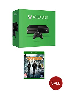 xbox-one-500gb-console-with-the-division-and-optional-additional-controller-and-12-months-xbox-gold-live