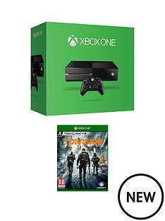xbox-one-500gb-console-with-the-division-with-12-months-xbox-live