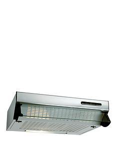 beko-hbv60x-60cm-visor-cooker-hood-with-optional-connection-stainless-steel