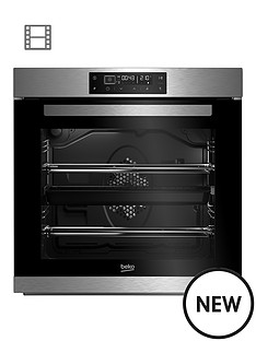 beko-bim32400xp-60cm-built-in-electric-single-oven-with-optional-connection-stainless-steel