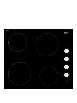 beko-hic64102-60cm-built-in-ceramic-hob-with-optional-connection-black