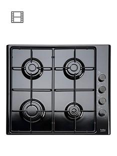 beko-hizg64120sb-60cm-built-in-gas-hob-with-fsdnbspand-optional-connection-black
