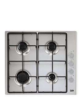 beko-hizg64120sxnbsp60cm-gas-hob-with-optional-connection-stainless-steel
