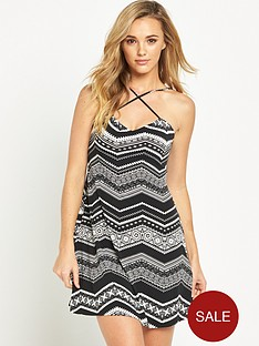 v-by-very-cross-front-swing-jersey-dress