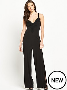 v-by-very-split-leg-lace-trim-jersey-jumpsuitnbsp