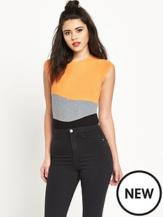 river-island-colour-block-bodysuit