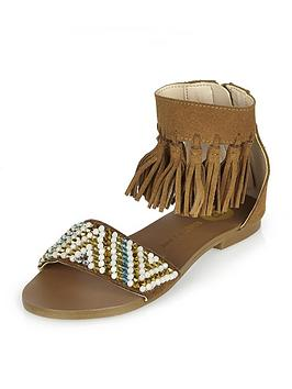river-island-girls-tassel-embellished-sandals