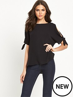 river-island-tie-side-cold-shoulder-top