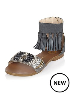 river-island-girls-fringed-embellished-sandals